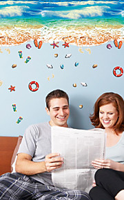 Moda Paesaggio Forma Adesivi murali Adesivi aereo da parete Adesivi decorativi da parete,Vinile Materiale Decorazioni per la casaSticker