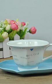 미니멀리즘 드링크웨어, 150 ml 간단한 기하학적 패턴 세라믹 차 누드 일상용 컵