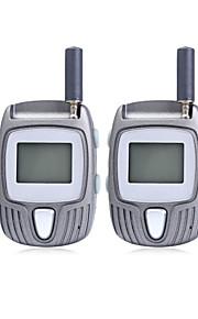 -80 ot 2pcs 22 canale UHF walkie talkie stile sportivo