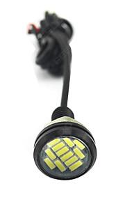 1 groep 20pcs nieuwe eagle LED DRL high power 80w LED DRL ingesteld 4014 12SMD geleid witte kleur