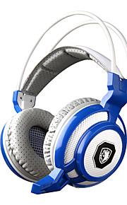 sades sa-905 trilfunctie diepe bas fone de ouvido pro gaming koptelefoon 7 color led spel headset met microfoon voor pc gamer