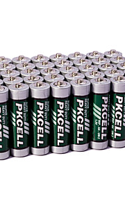 pkcell R6P AA zink-koolstof droge batterij 1.5v 60 stuks super heavey plicht