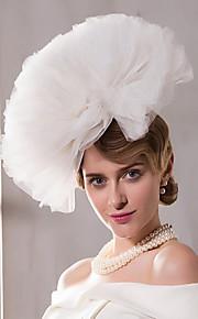 Net Headpiece-Wedding Special Occasion Outdoor Fascinators Hats 1 Piece