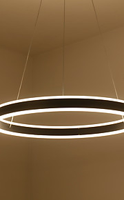 60 Pendant Light   Modern/Contemporary Simple LED Chandelier Metal Living Room Bedroom Dining Room Kitchen