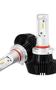 9005 LED Car Headlight Kit Bulbs 25W/2Pcs 5000LM LED Conversion Kit 9v-32v Replace for Halogen Lights or HID Bulbs