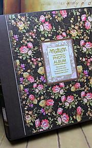 fotoalbum blomster / botaniske retro