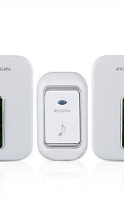 Smart Digital Electronic Doorbell Wireless Doorbell A Drag Two Doorbell Waterproof Light Flashing