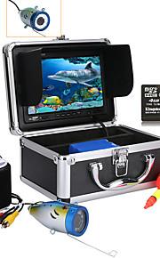 Bergone 30m 7 '' kleur digitale lcd 1000tvl hd dvr recorder onderwater viscamera