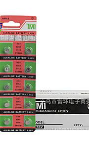 tmi AG4 mønt&knapcelle Cardon zink batteri 1.55V 20 pack
