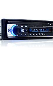 håndfri multifunktions autoradio bilradio bluetooth audio stereo i streg FM aux-indgang modtager usb disk sd kort