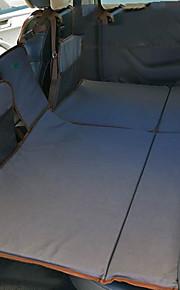 Gris Colchón de coches Doble(136*90*3cm)Algodón Portable Cómodo Ajustable defensa equipamiento de seguridad