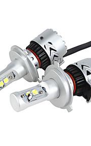 H4 36W/2Pcs 7200LM LED Headlight KIT HIGH LOW Beam Replace Halogen Xenon