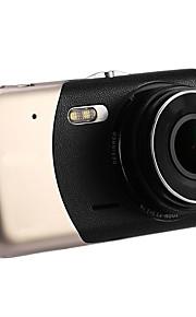 2017 nuevo 4 mini dvr del coche cámara dual del coche del estacionamiento del registrador de la lente del coche hd 1080p wdr coche de la