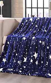 Toison de CorralTeint -filé Géométrique 100 % Polyester couvertures