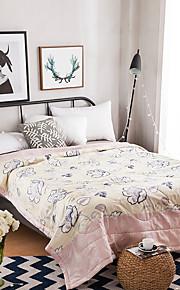 yuxin®コットン夏のクールエアコンキルト夏の薄いコア純粋な綿の夏のキルトの学生の子供のシリーズの寝具セット