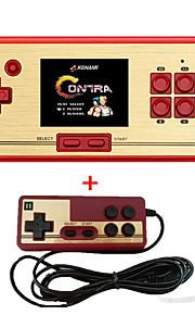Rs-30 klassieke retro game console handheld draagbare 2.6 600 spelletjes zak gratis cartridge 2e speler controller voor fc