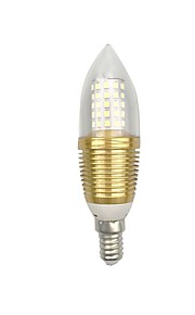 9W E14 E26/E27 Ampoules Maïs LED C35 60 SMD 2835 850 lm Blanc Chaud Blanc V 1 pièce