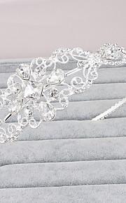 Rhinestone Crystal Headpiece-Wedding Tiaras 1 Piece