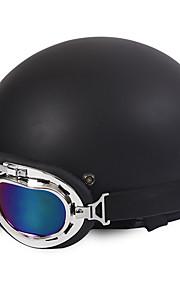 Motor helmen open gezicht half motor&Brilhelm unisex nieuwe zomer vintage