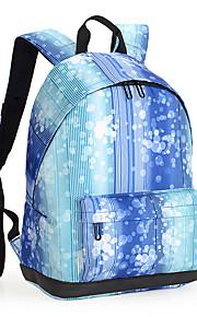 13-tommer letvægts nylon pu læder rygsæk rygsæk kvinder sko taske bærbar rygsæk dagpakke til skole arbejde vandreture