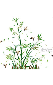 חיות בוטניקה אנימציה מדבקות קיר מדבקות קיר מטוס מדבקות קיר דקורטיביות,ויניל חוֹמֶר קישוט הבית מדבקות קיר