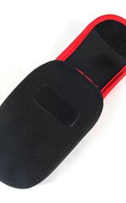 Digitale Camera-Hoes- voorRicoh-Eén-schouder- met-Zwart Rood