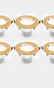 LED ugradbene žarulje Toplo bijelo Hladno bijelo LED 6 kom.