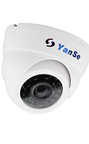 Yanse® cctv home surveillance met beveiligingscamera van de snijkoepel