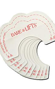 10 stk instant brystløftestøtte usynlig bh trykk opp bh klistremerker lim inn støtte skjønnhetsbryst klistremerker naturlig farge