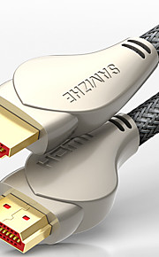 HDMI 2.0 Kaapeli, HDMI 2.0 to HDMI 2.0 Kaapeli Uros - Uros Kullattu kupari 2,0m (6.5Ft)
