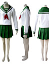 Cosplay Costume Inspired by Japanese School Uniform Inuyashai
