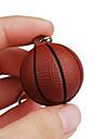 Porte-cles Basket-ball Classique & Intemporel Porte-cles / Flexible Marron Plastique