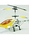 3 kanaler rc helikopter fjärrkontroll alu radiostyrning flygplan inomhus leksaker (yx02730)