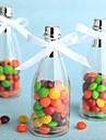 6 Piece/Set Favor Holder - Cylinder Plastic Candy Jars and Bottles Non-personalised