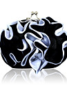 Gorgeous Silk Shell With Applique Evening Handbags/ Clutches More Colors Available