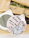 personalizat oglinda breloc - flori (set de 12)