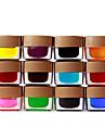 12 Colored Glaze Builder gel Nail Art 8ml