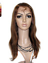 Full Lace Medium Long Yaki Straight 100% India Reme Hair Wig Multiple Colors To Choose