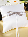 Pure Elegance Wedding Ring Pillow In Satin
