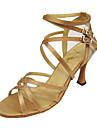 anpassa prestanda dansskor Satin / konstläder övre latinska skor för kvinnor