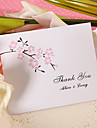 Thank You Card - Peach Blossom (Set of 50)