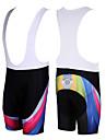 KOOPLUS® Bib-shorts Herr Cykel Andningsfunktion / Snabb tork Bib Shorts / Shorts / Underdelar Polyester Lappverk Vår / Sommar