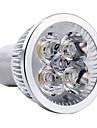 4W GU10 Spot LED MR16 4 LED Haute Puissance 360 lm Blanc Chaud AC 85-265 V