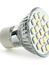 GU10 LED-spotlights MR16 21 SMD 5050 220 lm Naturlig vit AC 220-240 V