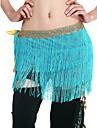 여자보다 색상에 대한 tassels 성능 배꼽 춤 벨트와 안무 복 폴리 에스터