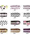 DOT Pattern 14 Tips Nail Art Stickers