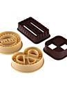 Moule de Cuisson Pour Gateau Pour Cookie For Chocolate Plastique Bricolage Haute qualite Ecologique