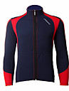 JAGGAD Bike/Cycling Jacket / Tops Men\'s Long Sleeve Wearable / Windproof / Thermal / Warm Polyester / Coolmax Patchwork BlueS / M / L /