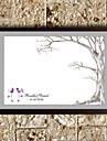 gepersonaliseerde vingerafdruk schilderij - boom (inclusief 6 inktkleuren, frame niet inbegrepen)