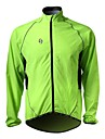 SPAKCT Cycling Rain Jacket/Waterproof jacket/Wind Jacket/Raincoat Green 100% 20D Polyamide Long-Sleeve